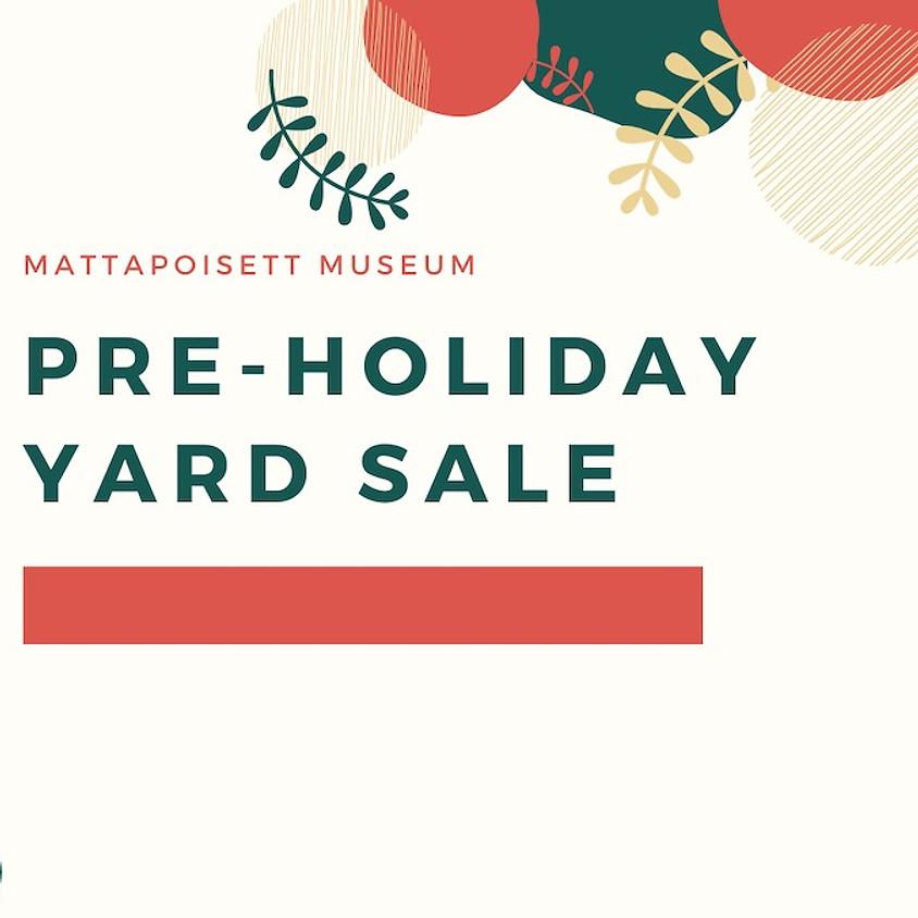 Pre-Holiday Yard Sale