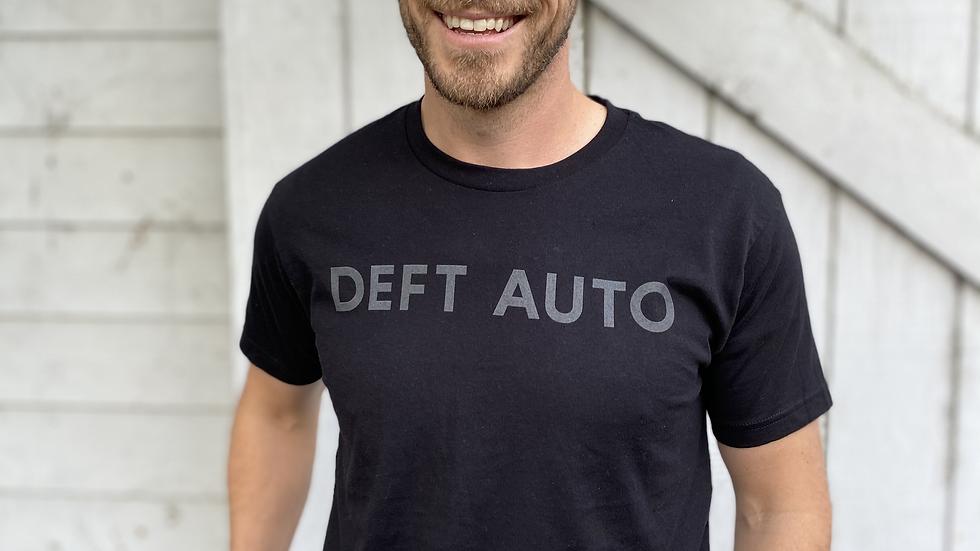 DEFT AUTO Grey Logo T