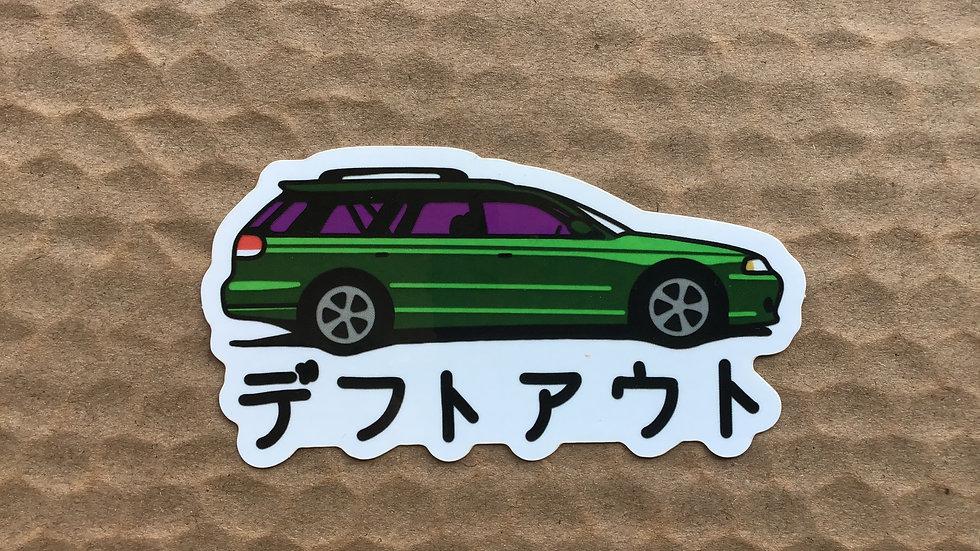Steve's Legacy GT Sticker