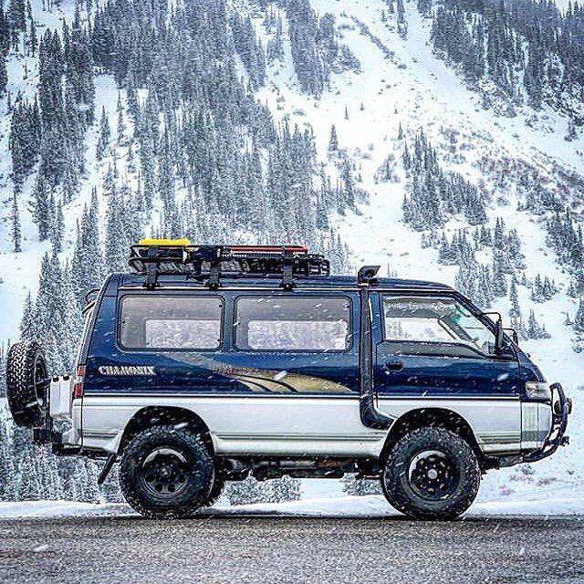 1992 Mitsubishi Delica Camper Van