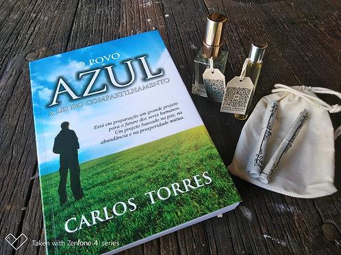 Livro O Povo Azul + Kit Óleos Essenciais 5D