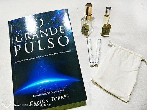 Livro O Grande Pulso + Kit Óleo Essencial 5D