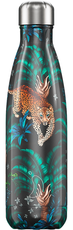 BOTELLA CHILLY'S TROPICAL LEOPARDO