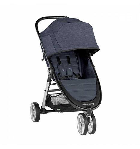 silla de paseo babyjogger city mini 2 3 ruedas en color carbon