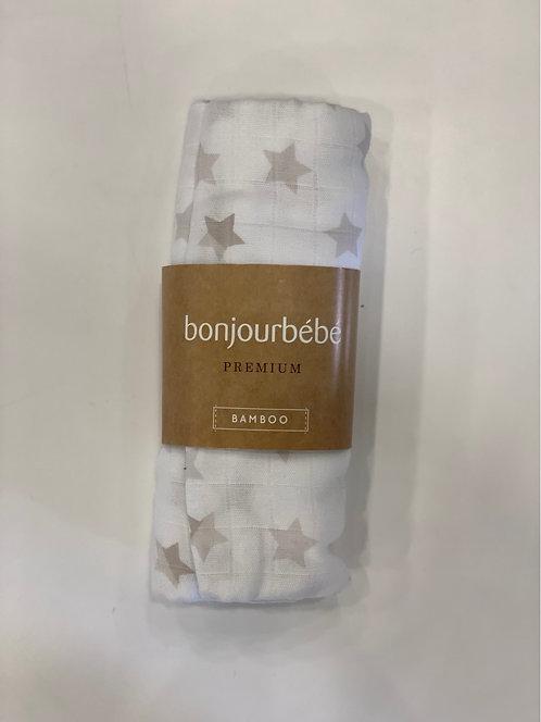 MUSELINA BAMBU STAR BONJOUBEBE