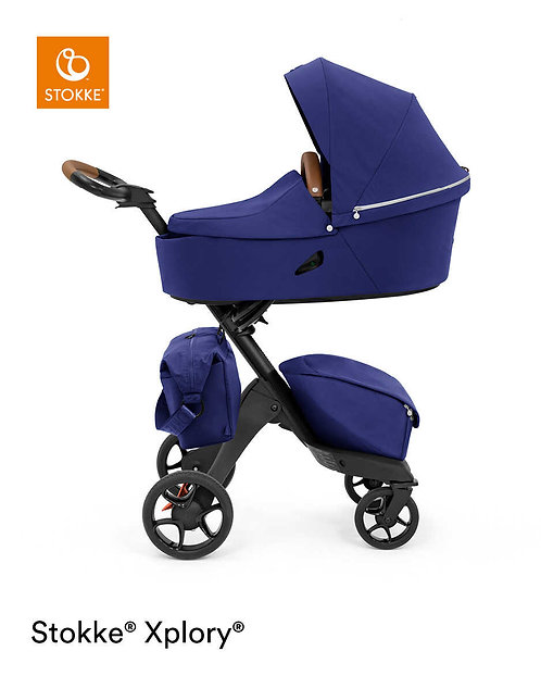 cochecito de bebe stokke xplory x en color royal blue
