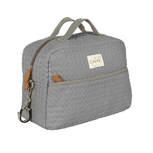 BOLSO MATERNAL DREAM GREY BIMBI CASUAL