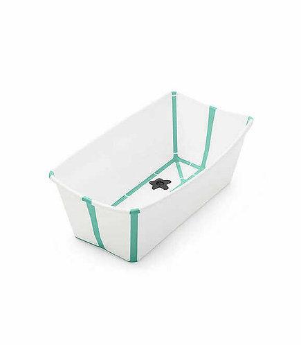 bañera flexi bath stokke en color blanco menta