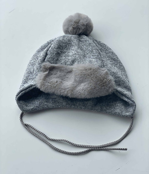 GORRO FURS GRIS WALKING MUM