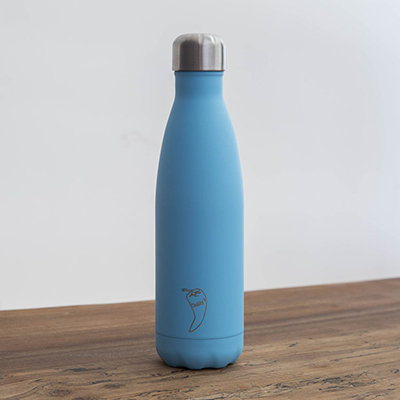 CHILLY´S BOTTLES AZUL PASTEL