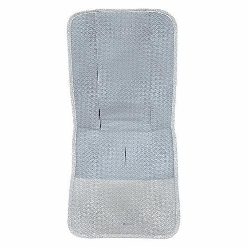 colchoneta de silla recta coleccion hojas azul de la marca dydados