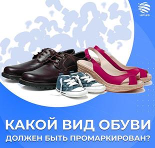 Введение обязательной цифровой маркировки обуви планируется в Казахстане с 01.07.2021 года!