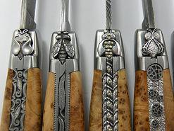 Les couteaux Laguiole