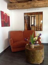 L'étable de Lilou, la pièce à vivre