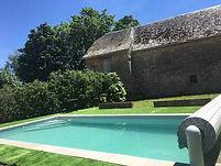 La Forge, la piscine