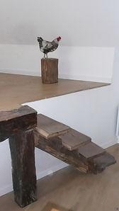 L'étable de Lilou, la chambre de la poule