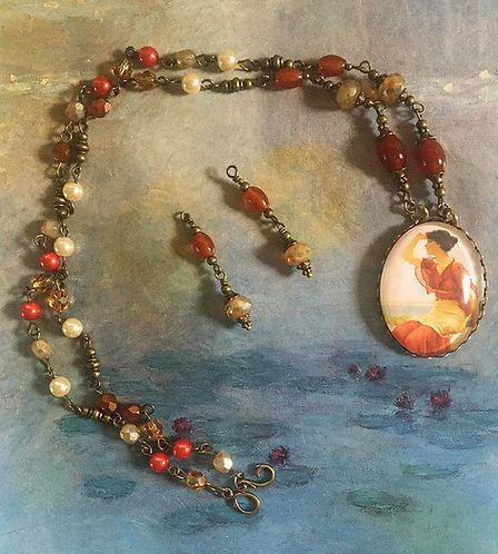 john william godward the signal necklace set