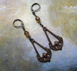 Art Deco Swing Earrings