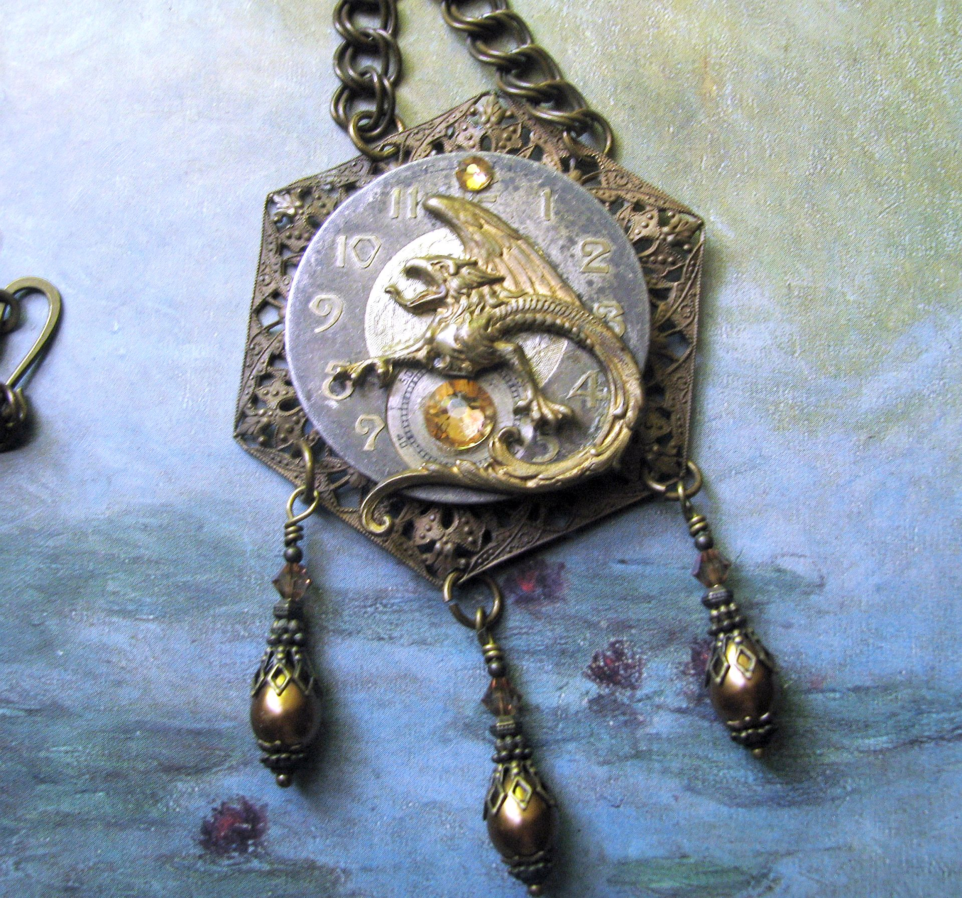 Gothic Steampunk Necklace