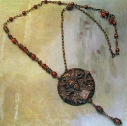 Asymmetrical Art Nouveau Necklace