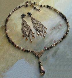 Art Deco Necklace Set