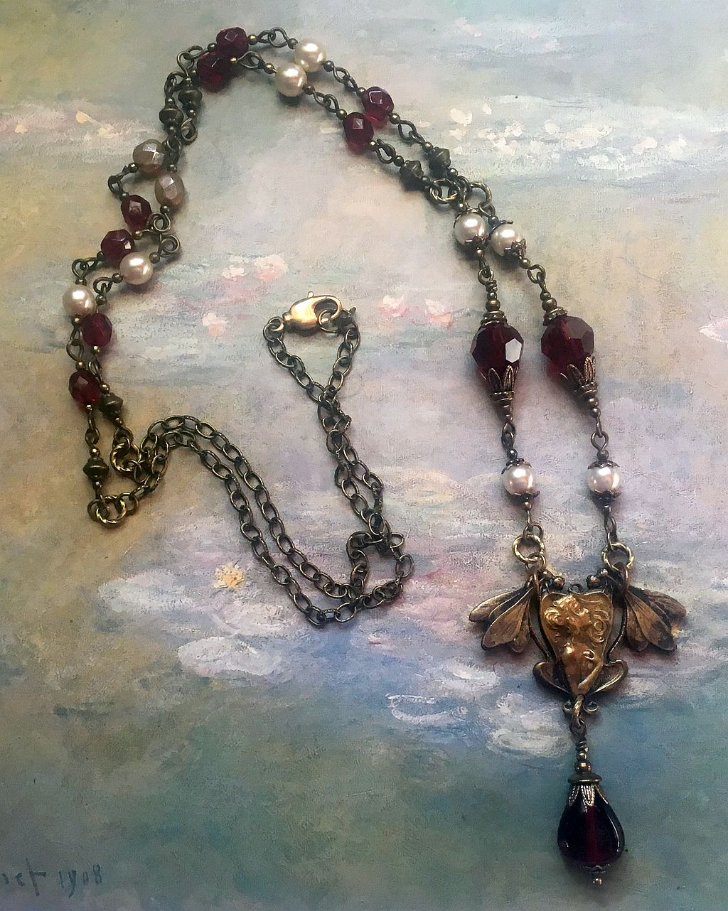 Gothic Fairy Necklace