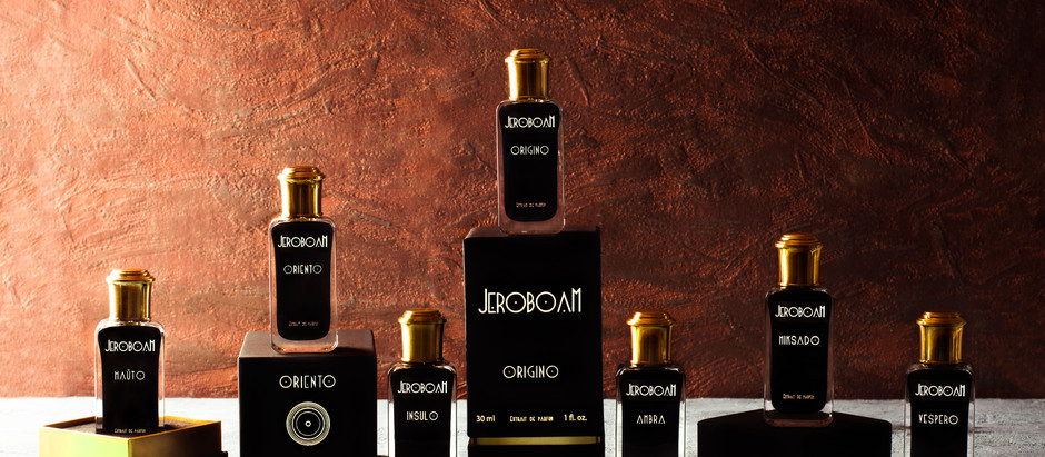 Introducing Jeroboam fragrances collection to the U.S. market!