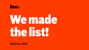 We're excited to announce Amerikas made the 2020 #Inc5000 list!