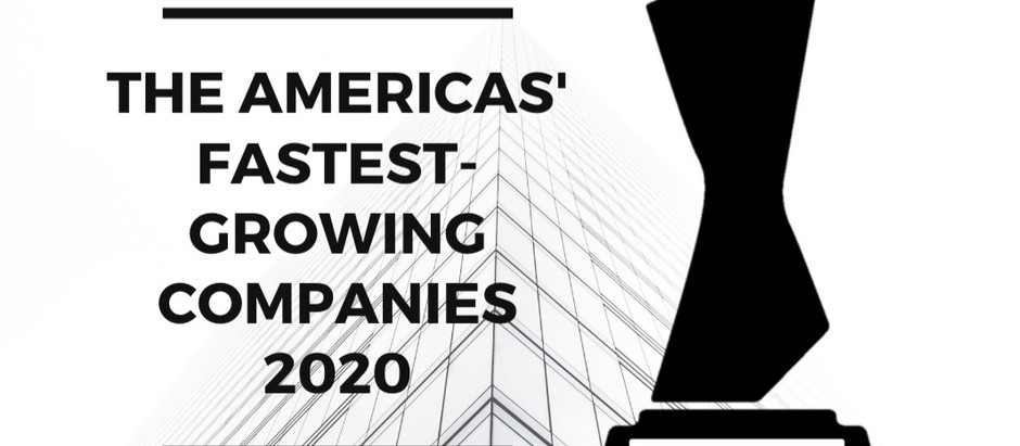 Amerikas Makes the FT Americas' Fastest Growing Companies 2020