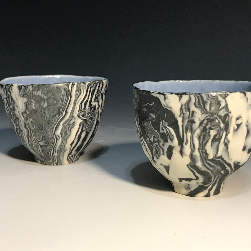 Hand-Built Tea Cup Sets I