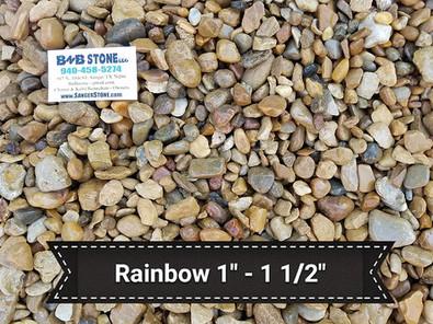 "Rainbow 1"" - 2"""