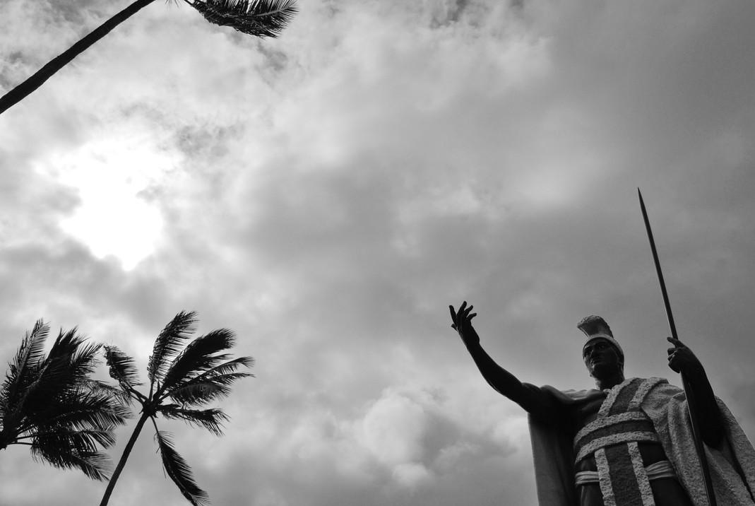 King Kamehameha Original Statue