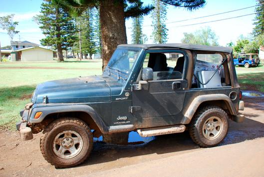 Dirty Jeep