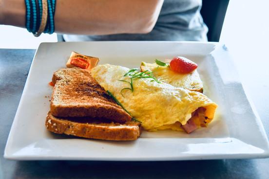 "Breakfast at ""Moena Cafe"""