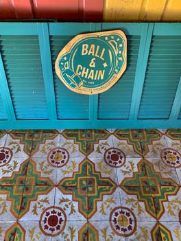 Tiles, Ball & Chain