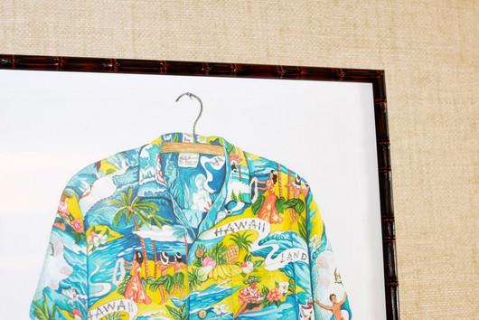 Painted Aloha Shirt