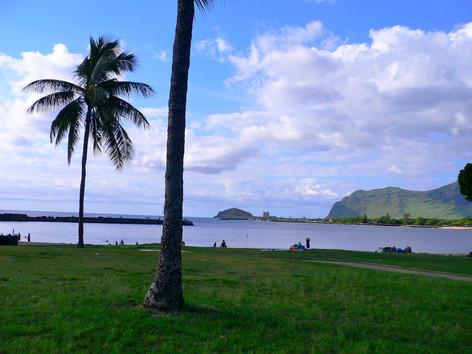 Pokai Bay Beach Park