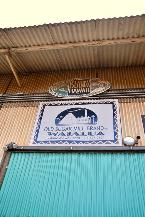 Old Sugar Mill Bland Waialua Coffee