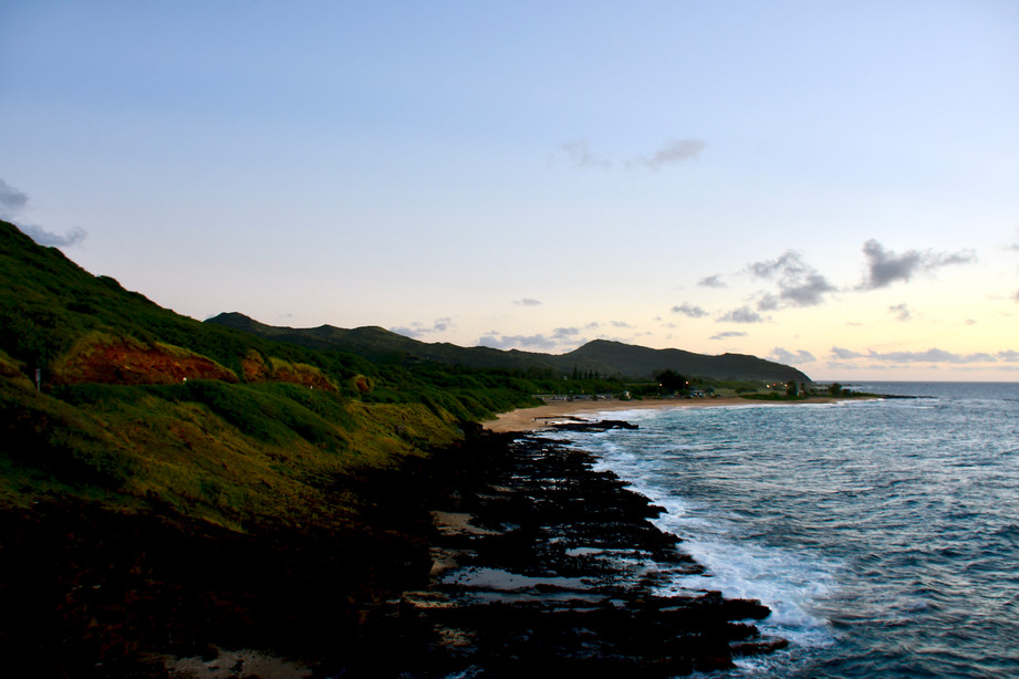 Sandy Beach in the Morning