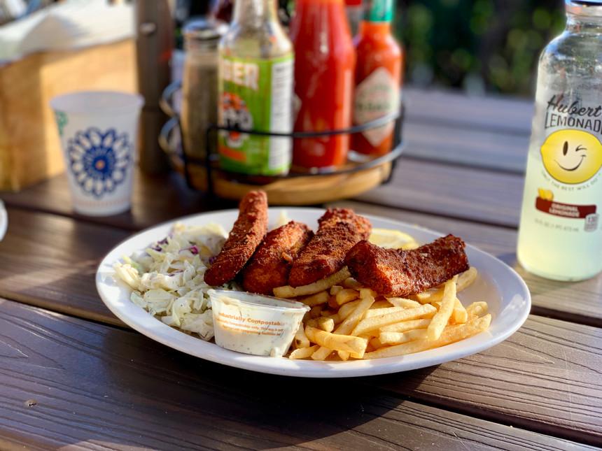 Fish & Chips @ Paia Fish Market Southside