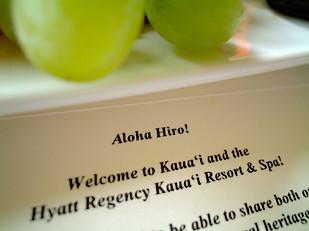 """Aloha Hiro!"""