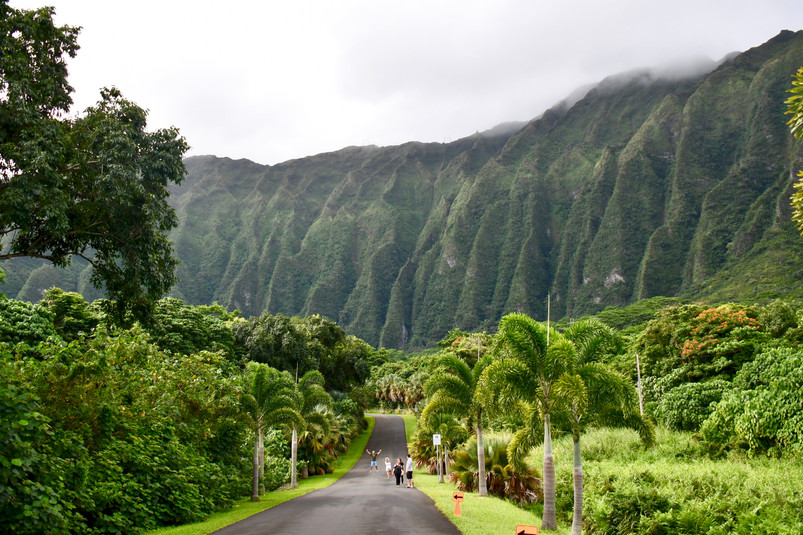 Hoomaluhia Botanical Garden