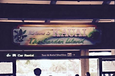 Welcome To Kaua'I