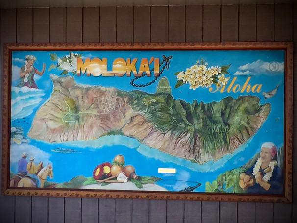 Moloka'i island