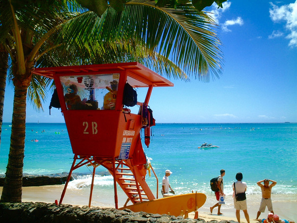 Watchtower of Waikiki Beach