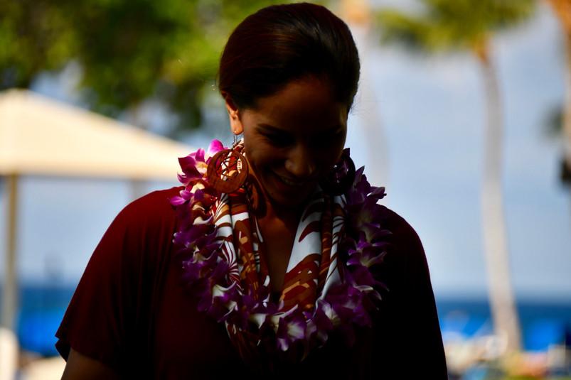 Woman in Hawaii