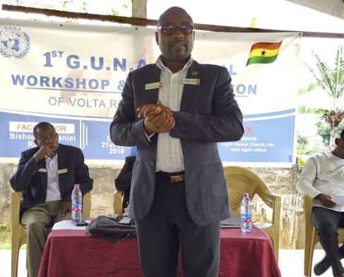 Pastor Anthony Amankwah