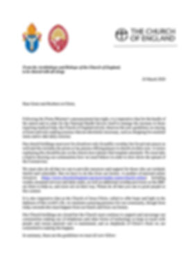 Letter from Archbishops and bishops 1.j