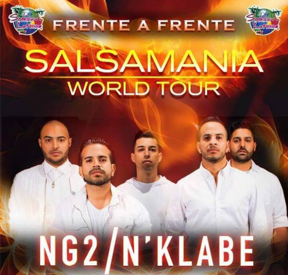 N'Klabe y NG2 pondrán a bailar a México con su Salsamania World Tour.