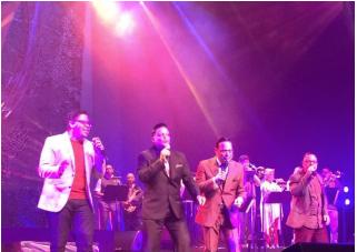 Gilberto Santa Rosa vuelve a enamorar a su público